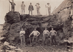Photograph [Mataura coal/lignite pit]; unknown photographer; 1905; MT2014.1.1