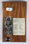 Morse Code Key; McKelvie, Ian; 1960s; MT1993.21.3
