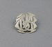 Badge, Mataura Town Band; unknown maker; 1930s; MT2012.147