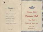 Programme, Mataura R.S.A Debutantes Ball, 1954; Mataura Ensign; 1954; MT2017.19.2
