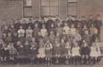 Postcard, [Mataura School, Infant Classes, 1916]; unknown photographer; 1916; MT2013.22.2
