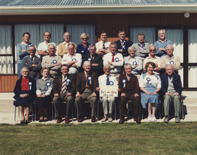 A colour photograph of Mataura Cricket Club member...
