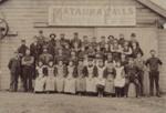 Photograph [Mataura Paper Mill employees]; Olsen, F.J.; c.1895; MT2011.185.54