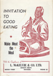 Cookery book, Make Meat the Meal; Courier Publications, N.Z.; 1969; MT2012.88.2