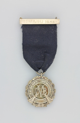 Medal; E.C. Derry Memorial medal awarded to Willia...