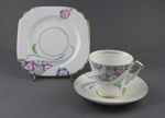 Cup, Saucer and Plate set; Cartwright & Edwards; after 1936; MT1993.74.6