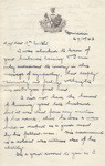 Letter, London & Lancashire Insurance Company Ltd to Clara Quilter on the death of her husband; The London & Lancashire Insurance Company Ltd; 27.02.1943; MT2015.20.56