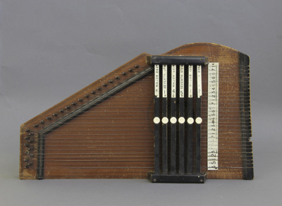 Zither; unknown maker; before 1860; MT1996.145.3