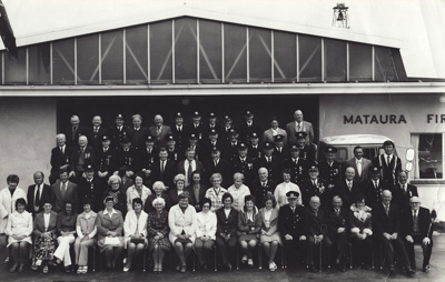 Photograph [Mataura Volunteer Fire Brigade]; unknown photographer; [?]; MT2011.185.466