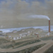 Painting, Watercolour, Mataura Paper Mill, 1885; Best; 1885; MT2012.15.1