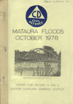 Book, Civil Defence Report on the 1978 Mataura Flood; Mataura Borough Council; 1978; MT2012.97.1