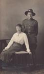 Postcard, Trooper John Taylor and Nan Taylor; Mora Studio, The (Gore); 1917; MT2015.11