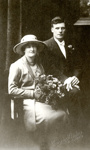 Photograph [John Clearwater & Irene McFadden's wedding portrait]; Crown Studios (Christchurch); 11.08.1920; MT2017.11.8