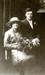 Photograph [John Clearwater & Irene McFadden's wedding portrait]; Crown Studios (Christchurch); 11.08.1920; MT2017.11.8