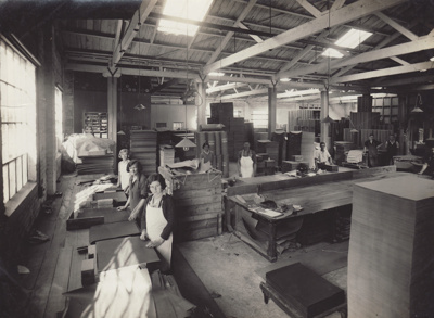Photograph, 14 of 16, Mataura Paper Mill Album [Finishing Room]; unknown photographer; 1920s; MT2012.137.14