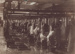 Photograph [Mataura Freezing workers on slaughter board]; unknown photographer; 1920-1930; MT2011.185.4