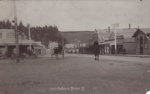 Postcard [Bridge Street, Mataura, 1909]; unknown photographer; 1909; MT2011.185.90