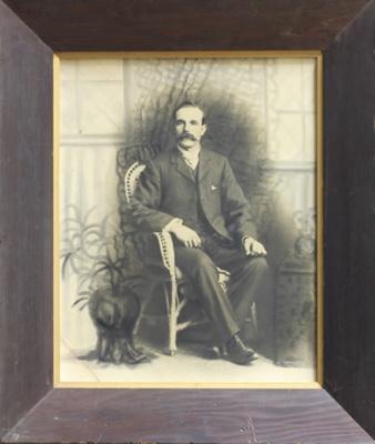 Photograph [James Mitchell]; unknown photographer; 1890-1910; MT1994.122.2