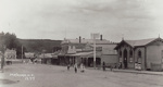 Photograph [Bridge Street, Mataura]; Radcliffe, Frederick George; 1910-1913; MT2017.8