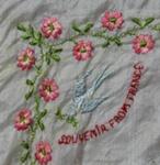 Handkerchief, World War One Souvenir; unknown maker; 1914-1918; MT2012.33.4