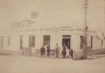 Photograph [John MacGibbon and Sons, General Merchants Store, Mataura]; unknown photographer; c.1910-1920; MT2011.185.120