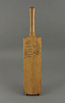 Cricket bat, miniature; unknown maker; 1933; MT2012.47