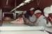 Photograph [Trimming Lamb, Mataura Freezing Works]; Green,Trevor; 05.08.1981; MT2013.3.28
