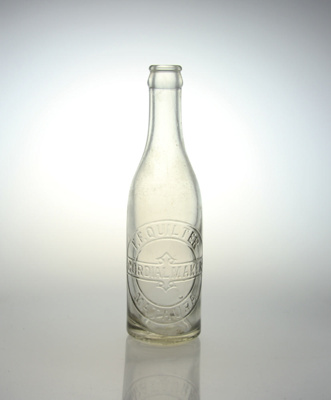 Bottle, Quilter's Cordial; Australian Glass Manufacturers; 1907-1946; MT2012.84.5