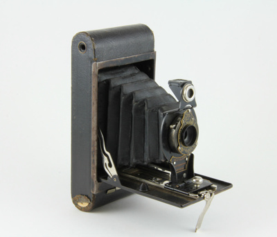 Camera; No 2 Folding Autographic Brownie, Kodak. I...