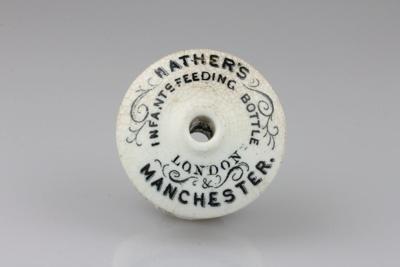 Mather's Infants Feeding Bottle: Ceramic Top. We f...