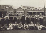 Photograph [Mataura Dairy Factory employees]; unknown photographer; 1927; MT2011.185.77