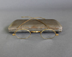 Spectacles, Ellen Maria Brown ; unknown maker; 1900-1940; MT2012.161