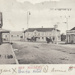 Postcard [Bridge Square, Mataura]; Muir & Moodie; c.1905; MT2011.185.124