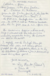 Letter [Roy Shanks, Rawleigh's Man]; Shanks, Roy; 06.08.2016; MT2016.16.2