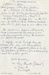 Letter [Roy Shanks, Rawleigh's Man]; Shanks, Roy; 06.08.2016; MT2016.16.2