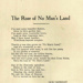 Music Score, 'The Rose Of No Man's Land'; Caddigan and Brennan; 1918; MT2012.166.1