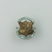 Badge, [Timaru Boys High School Old Boys Association, Hugh Brown McConnell]; unknown maker; 1927-1930; MT2015.22.16