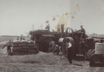 Photograph [Traction Engine threshing on farm]; unknown photographer; 1910s-1930s; MT2011.185.380