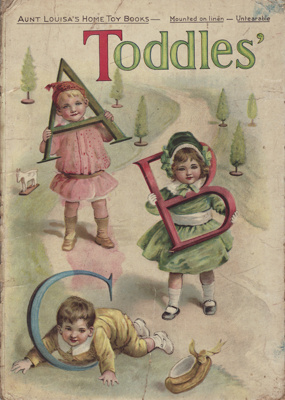 Book; Child's illustrated alphabet book which was ...