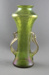 Vase, carnival glass; unknown maker; 1890-1910; MT1993.65.1