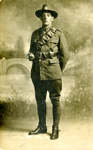 Postcard of Trooper Charles Leonard Humphries; unknown photographer; 1916-1918; MT2018.3.4