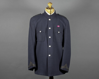 Tunic; a NZ Police Tunic issued to Constable Leste...