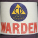 Armband, Civil Defence Warden's armband; unknown maker; 1970s; MT2012.69.4