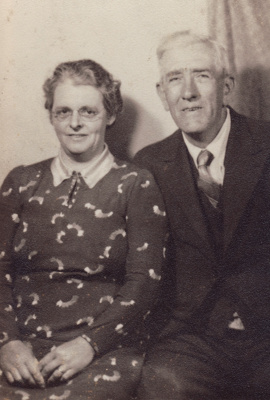 Photograph [John Henry Russell and Martha Russell]; unknown photographer; 1935-1945; MT2014.14.6