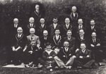 Photograph [Mataura Bowling Club men's team, 1935-36]; unknown photographer; 1936; MT2011.185.307