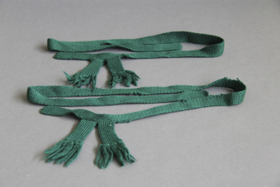Scout garters; these garters belonged to Ian McKel...