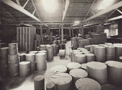 Photograph, 15 of 16, Mataura Paper Mill Album [Finishing Room Dispatch]; unknown photographer; 1930s; MT2012.137.15
