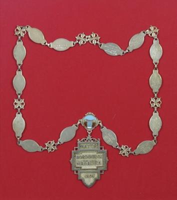 Mayoral Chain, Mataura Borough Council; unknown maker; c 1895; MT1999.165.1