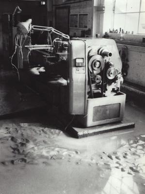 Photograph [Flood, Mataura Paper Mill, 1978] ; McDonald, Keith (Mr); 15.10.1978; MT2011.185.194