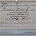 Prize cards, Mataura Horticultural Society; unknown maker; 1919-1932; MT2012.86.9
